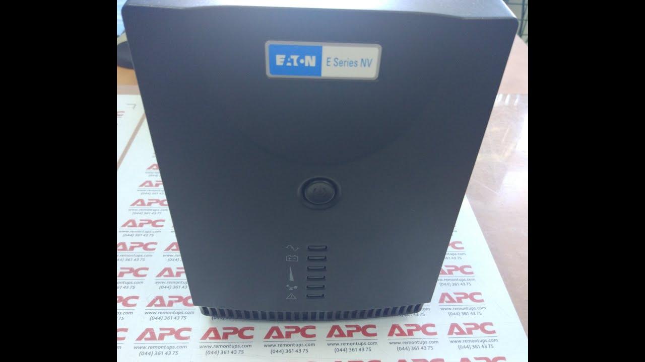 EATON NV 1000H Замена батареи (EATON NV 1000H battery replacement)