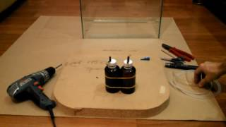 Как изготовить компактный генератор СО2 (углекислого газа) для аквариума.