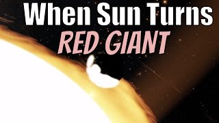 What If Sun Were A Red Giant?