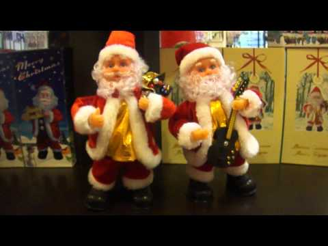 Musical Christmas Moving Figure