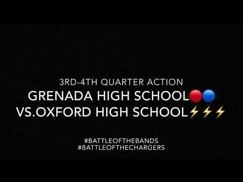 "Grenada High School Marching Band ""Sonic Boom of 5A"""