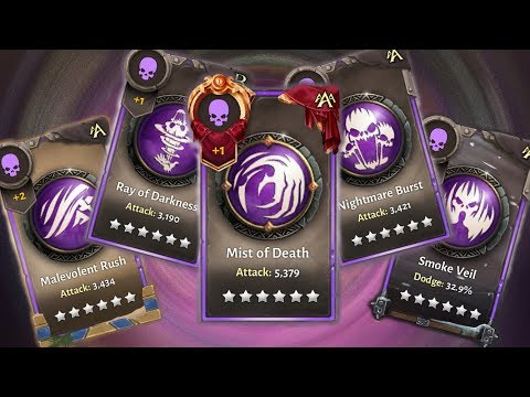 All Death Skill Items You Need! Dungeon Hunter 5: Back, Bracer, Belt And Legendary Skills T6