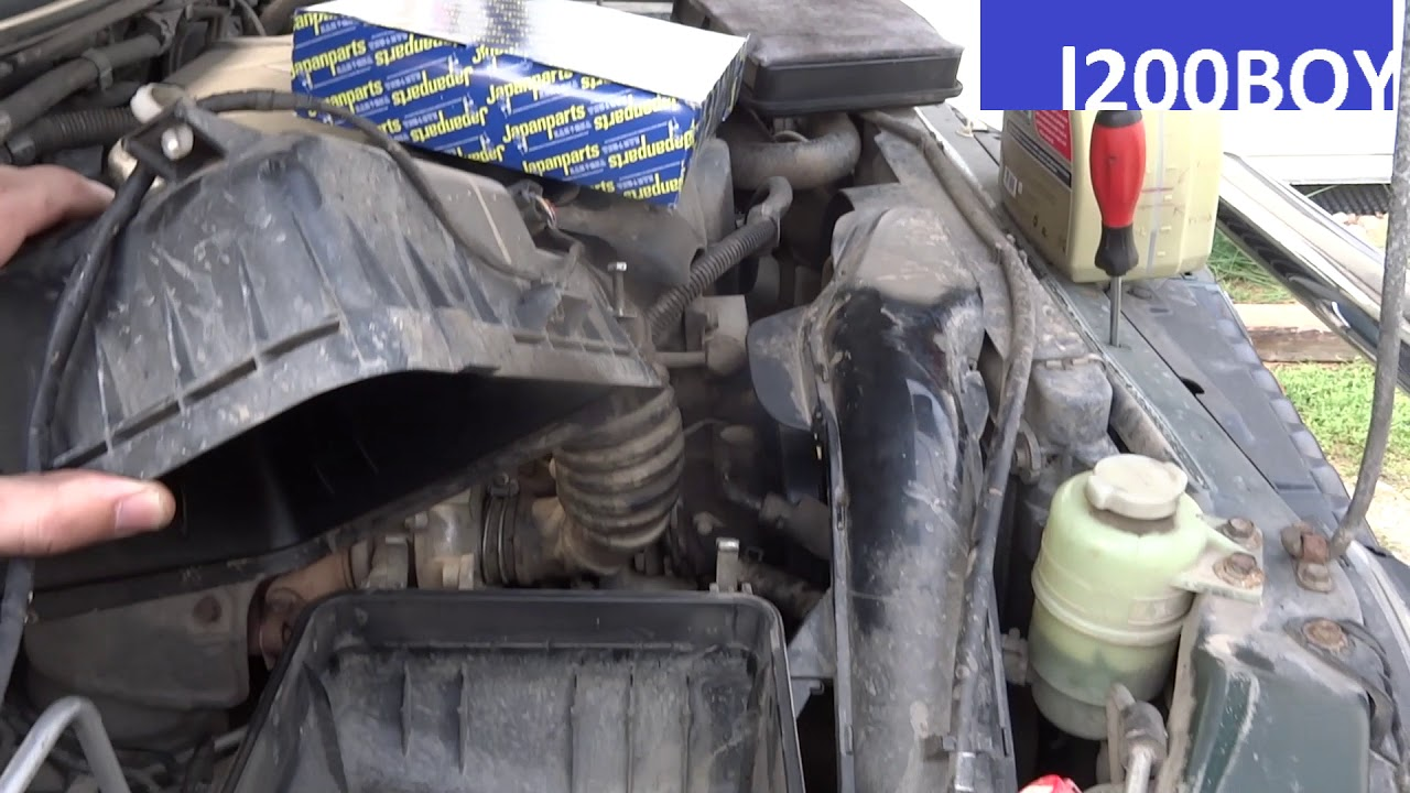 How To Change Air Filter Japanparts On Mitsubishi L200 4g63 Fuel Location Triton