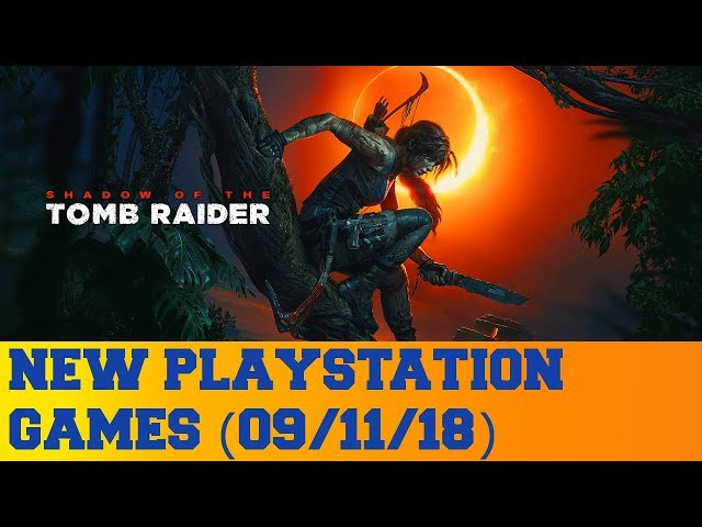 New PlayStation Games for September 11th 2018