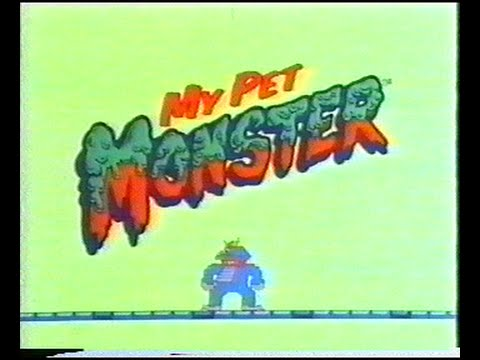 My Pet Monster Movie VHS 1986