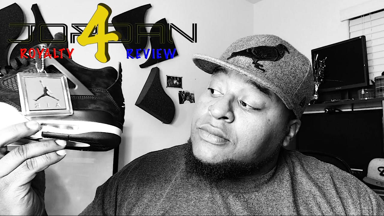 102480cf54d077 2017 Air Jordan 4 Retro ROYALTY Review - YouTube