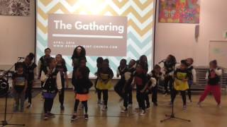 'We're Blessed:Judah Praise'  The G A P Kids Show Choir