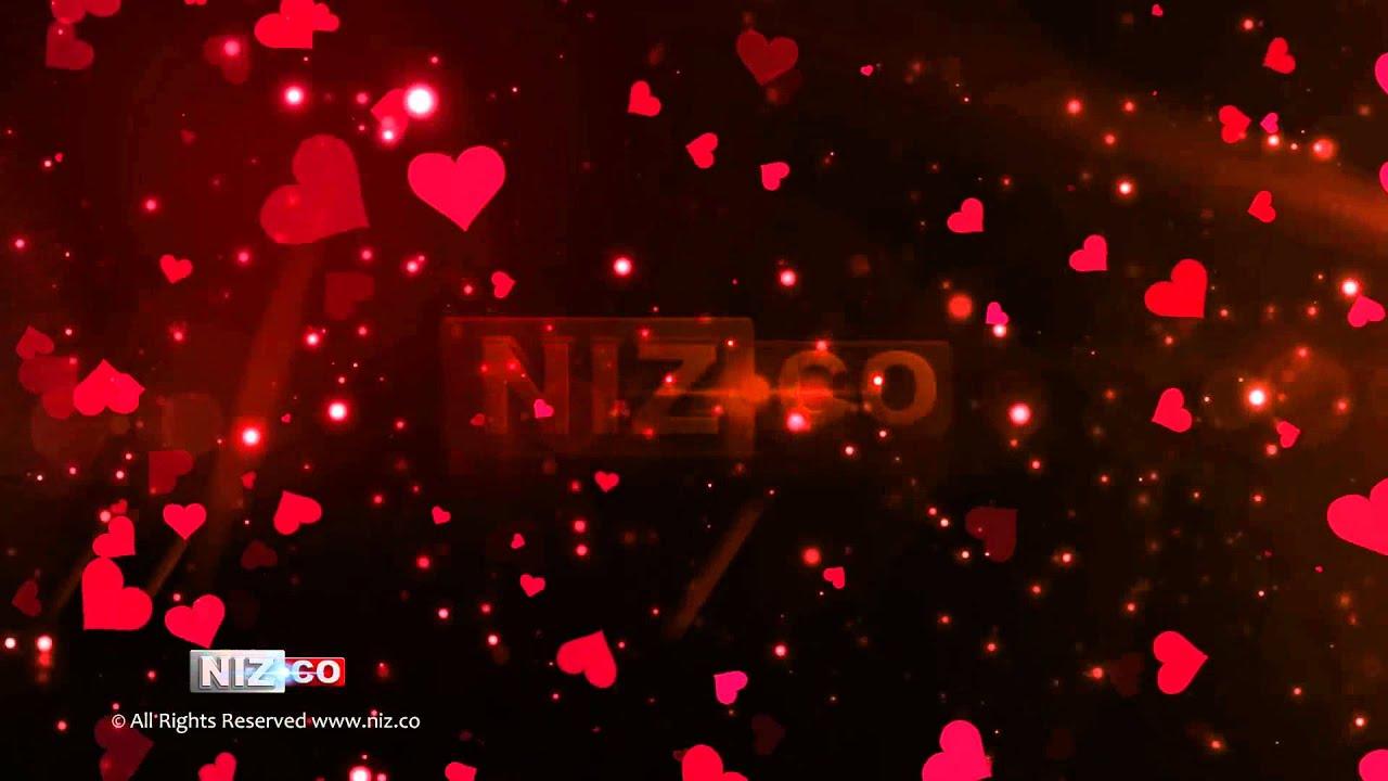 Falling Hearts Wallpaper Flying Hearts Royalty Free Background Loop Hd 1080p