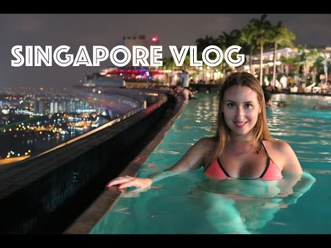 VLOG: Singapore. Getting wild in Marina Bay Sands