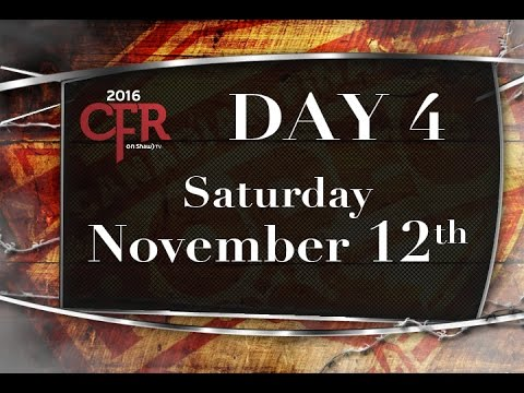 CFR DAY 4 0 Saturday