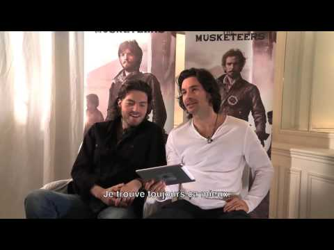 The Musketeers  santiago cabrera que sonrisa