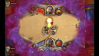 Hearthstone gameplay - greatest game ever #14 - Quest Priest vs C'Thun Priest