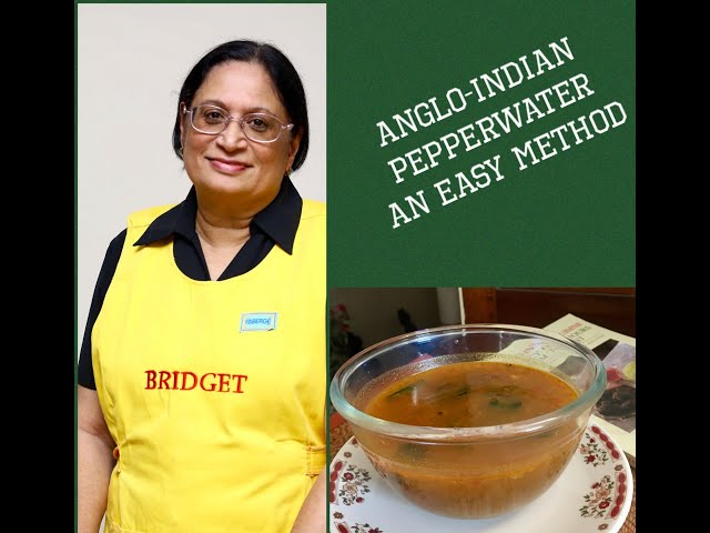 ANGLO-INDIAN PEPPER WATER / EASY WAY TO MAKE PEPPER WATER / ANGLO INDIAN PEPPER WATER AN EASY METHOD