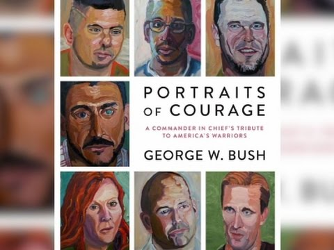 George W. Bush Previews New Painting Book