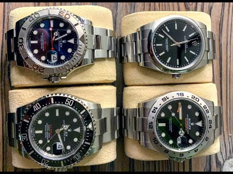 PAID WATCH REVIEWS - The Good Doctors Only Loves Rolex - 20J43