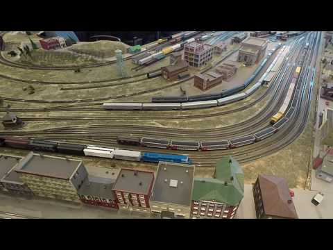 Tennessee Central Railway Museum N Scale Model Railroad