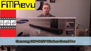 Samsung HW-H450 Wireless Sound Bar for Dolby Digital DTS Home Cinema Theater | FMRevu