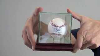 Autographed Nolan Ryan Baseball - Ryan Holo & Psa/dna