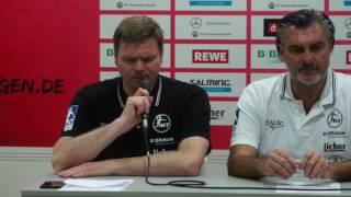 Pressekonferenz - MT Melsungen vs. Füchse Berlin