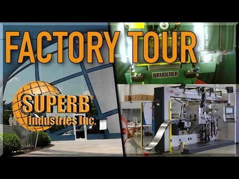 Superb Industries Factory Tour: ONE BILLION Parts Per Year!