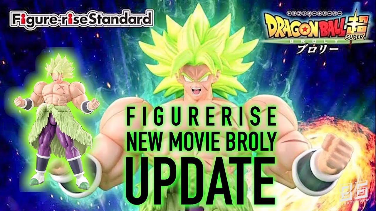 Dragon Ball Super Saiyan Broly Full Power Bandai Figure Rise Model Kit