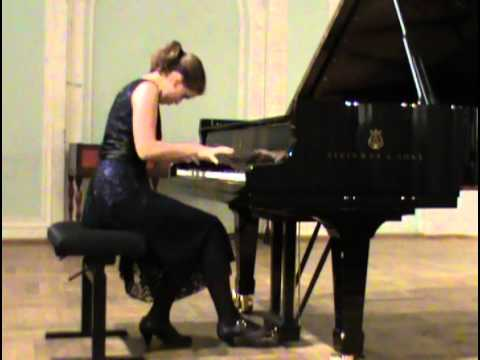 Elena Nefedova plays Beethoven, Chopin, Debussy