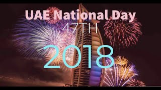 UAE 47TH NATIONAL DAY/FIREWORKS AT DUBAI FESTIVAL CITY
