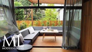 モダンリビング・ムービー「自然を身近に感じる都市の住宅」