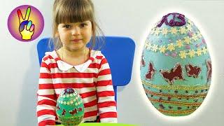 Пасхальные яйца своими руками. Пасхальные поделки. Красим разрисовываем расписываем пасхальное яйцо