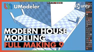 Modern House 9/11 - UModeler Tutorial