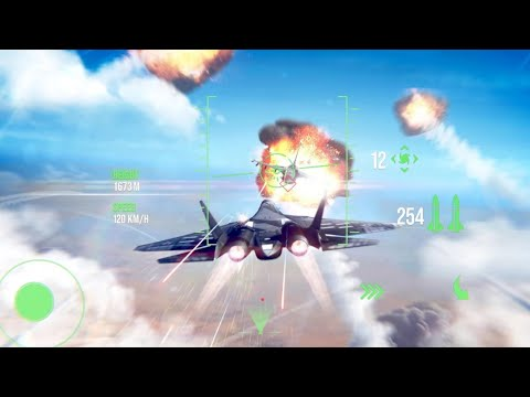 Top 10 Air Combat Games For Android 2020 | High Graphics