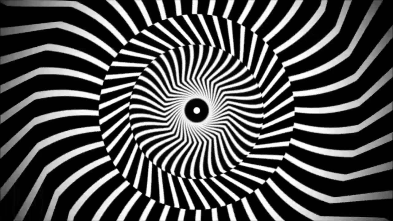 optical illusion eye hypnosis trick hypnotic trippy twister illusions twisters