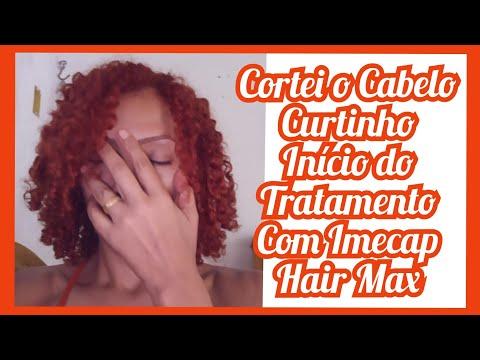 Cortei O Cabelo - Meu Novo Visual - Início Do Tratamento Com Imecap Hair Max