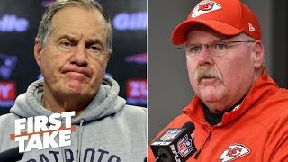 Andy Reid can't afford to lose to Bill Belichick in AFC Championship - Max Kellerman | First Take