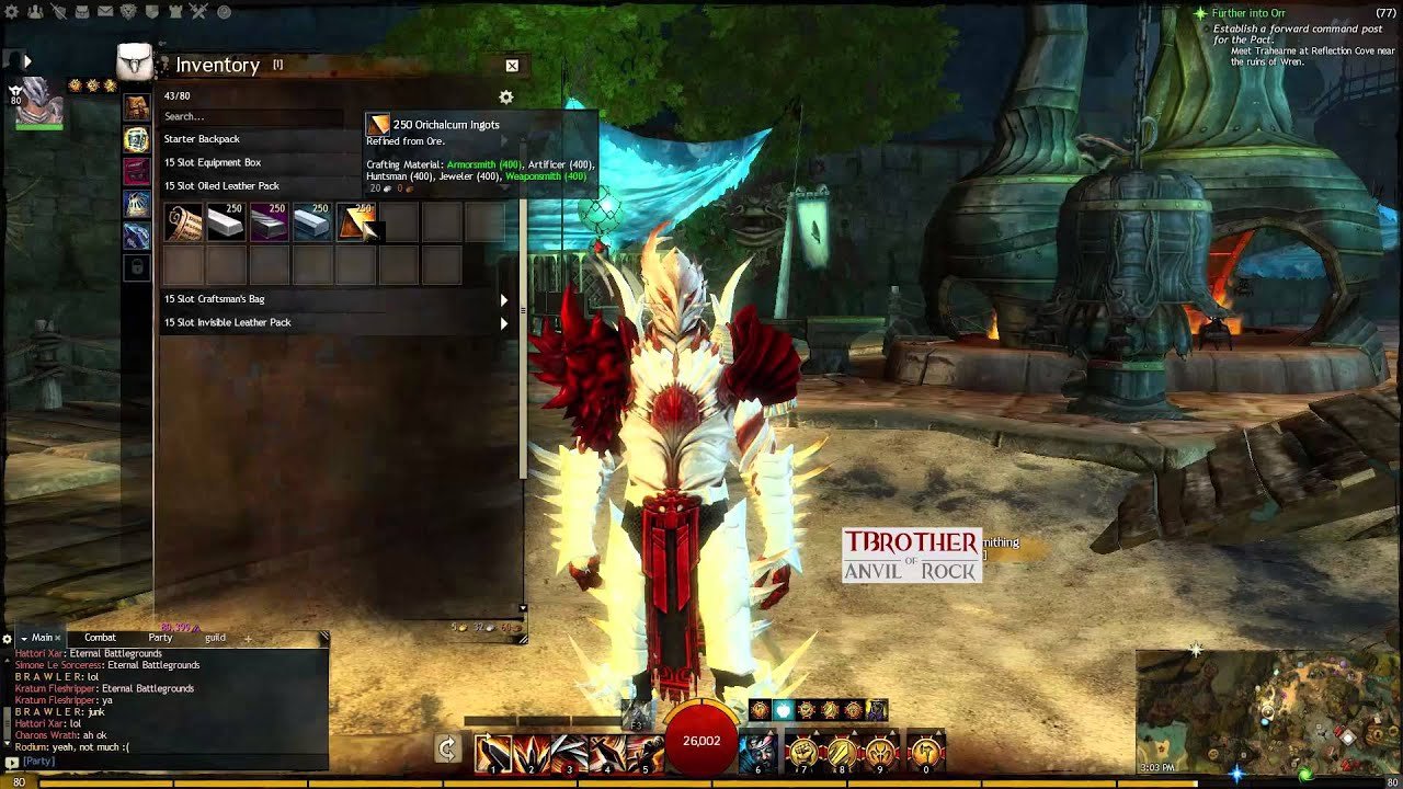 Guild Wars 2   Crafting Sunrise and Twilight   Gift of Metal ...
