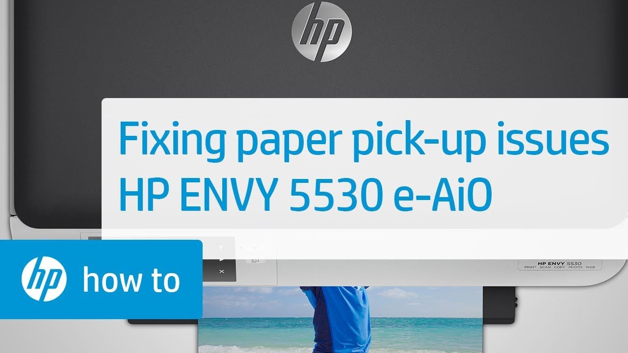 Fixing Paper Pick Up Issues - HP ENVY 5530 e-All-in-One Printer | HP Envy |  HP