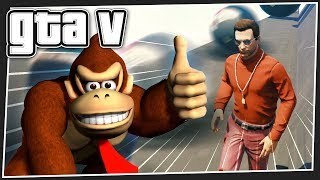 DONKEY KONG DEATH RUN | GTA 5 Online