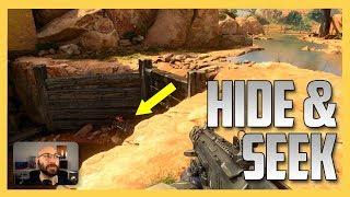 Hide and Seek on Madagascar in Black Ops 4!