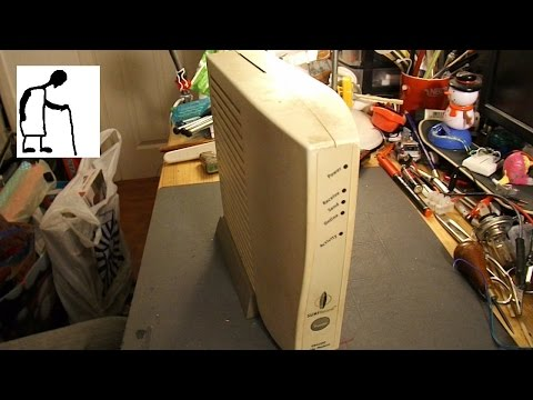 Let's take an old Cable Modem apart