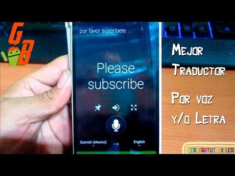 Mejor Traductor Para Android 2015 ♥ - Traductor Por Voz - Traductor Sin Internet