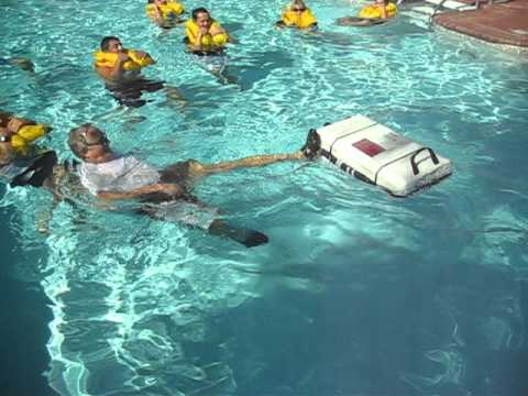 Winslow Life Raft Deployment at Corporate Air Parts Emergency Procedures Training