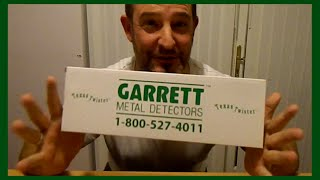 Garrett Texas Twister Unboxing!