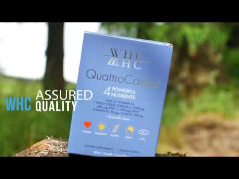 WHC Quattro Cardio: Fish Oil, Vitamin & CoQ10 Supplement