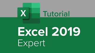 Excel 2019 Expert Tutorial