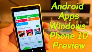 Download lagu How to Install ANDROID Apps on WINDOWS PHONE 10 Preview? Easy Guide