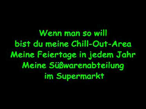 Sportfreunde Stiller Ein Kompliment lyrics
