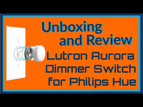 Lutron Aurora Dimmer Installation and Review | Ensure Phillips Hue Never Gets Turned Off Again