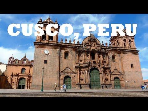 Exploring CUSCO, PERU in the Andes near Machu Picchu