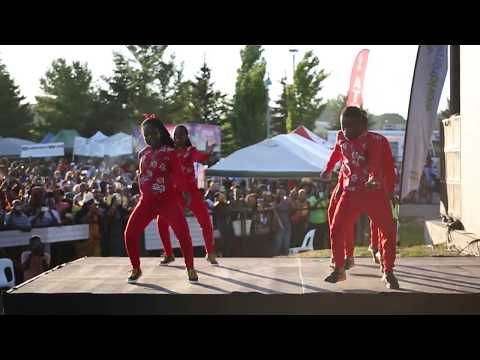Triplets Ghetto Kids perfoming with Eddy kenzo at Afro FEST Toronto Canada thumbnail