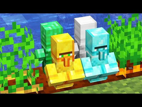 Minecraft but you can grow Custom Villagers...